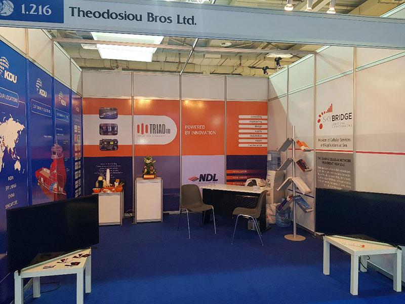 Triad Ltd at Posidonia 2018 Maritime Exhibition